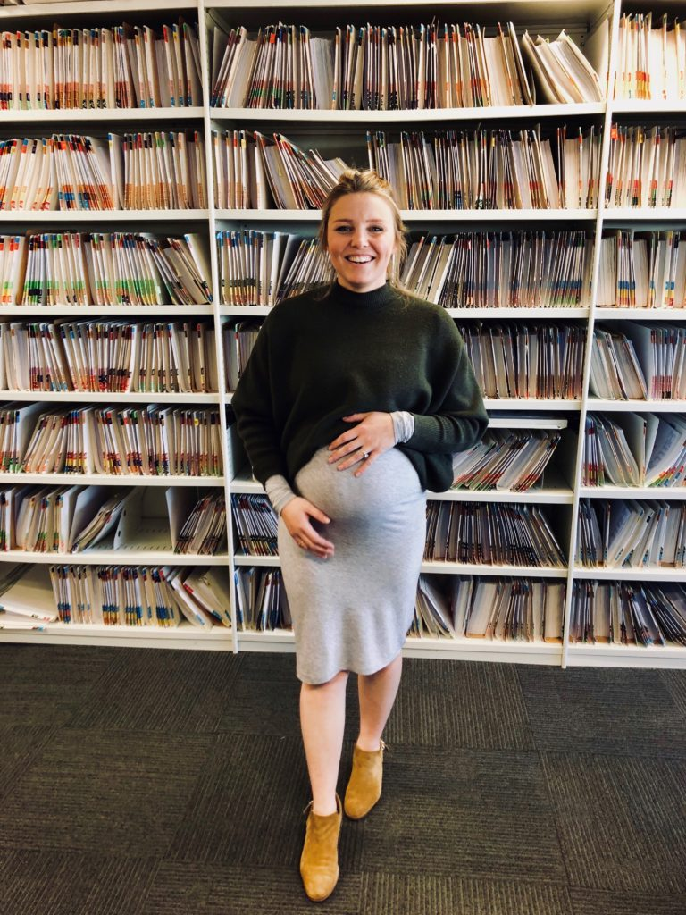 emily maternity leave